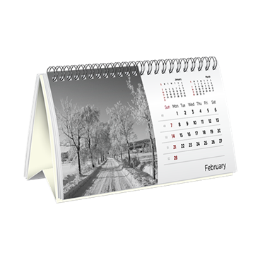 Eco-Friendly Desk Calendar